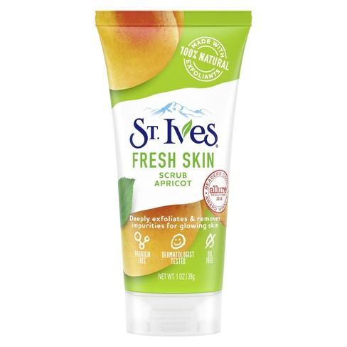St. Ives Invigorating Face Scrub - Apricot - 1oz - image 1 of 4