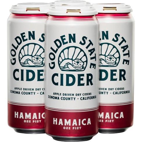 Golden State Hamaica Hard Cider - 4pk/16 fl oz Cans - image 1 of 2