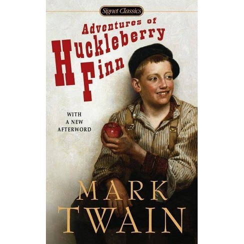 Adventures of Huckleberry Finn - (Signet Classics) by  Mark Twain (Paperback) - image 1 of 1