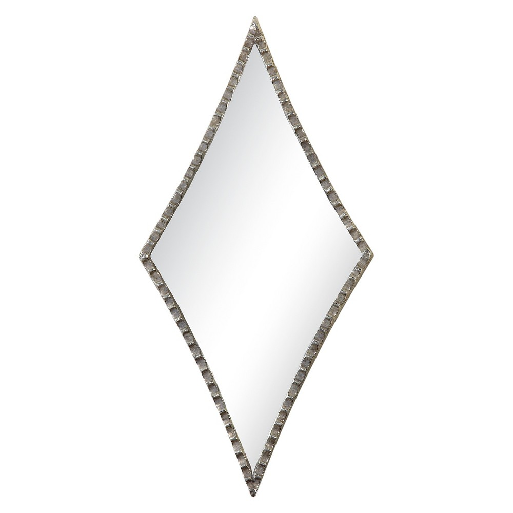 Image of Diamond Gelston Decorative Wall Mirror Silver - Uttermost