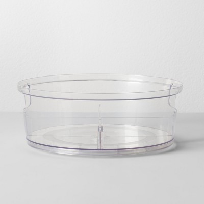 10.8  Round Plastic Lazy Susan Kitchen Organizer - Room Essentials™