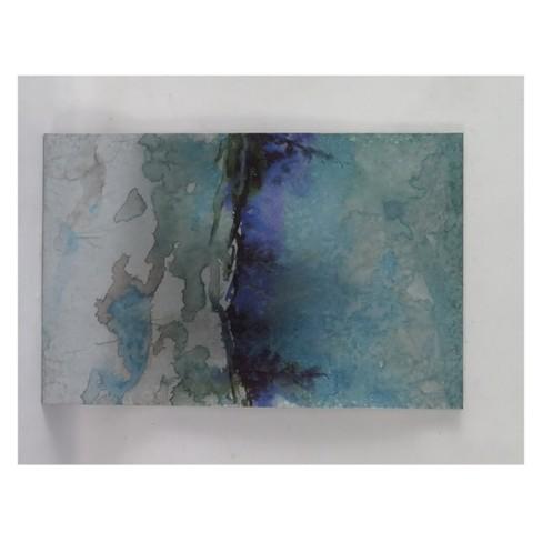"24"" Blends of Indigo Alternative Transitional Decorative Wall Art - StyleCraft - image 1 of 1"