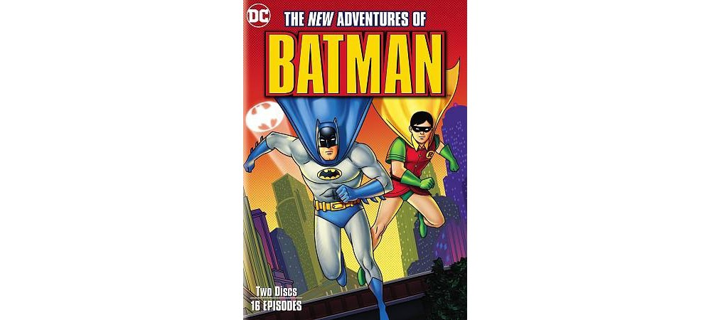 New Adventures Of Batman (Dvd)