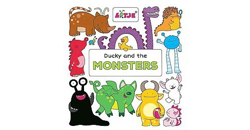 Ducky and the Monsters (Hardcover) (Lizelot Versteeg) - image 1 of 1