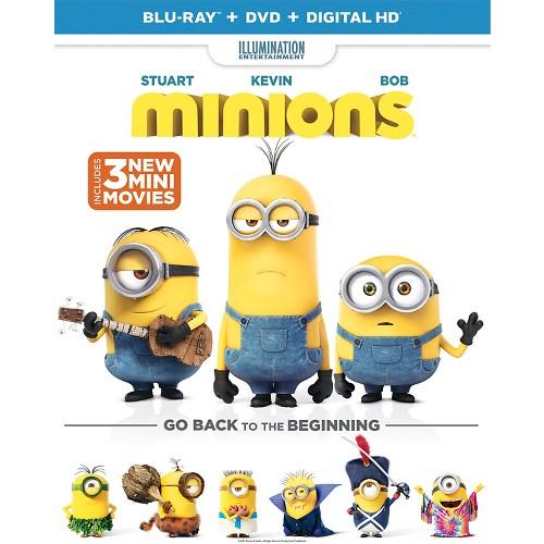 Minions (Blu-ray + DVD + Digital)