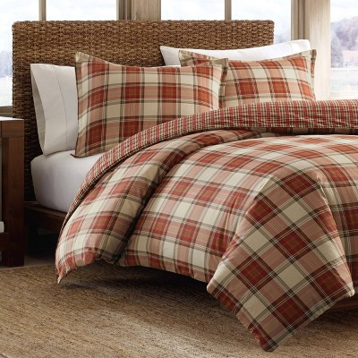 Edgewood Plaid Comforter Set - Eddie Bauer