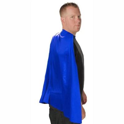 Costume Agent Deluxe Super Hero Costume Cape Blue