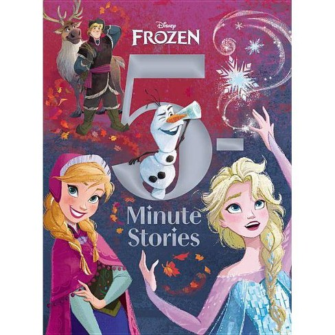 5-minute Frozen -  (5 Minute Stories) (Hardcover) - image 1 of 1