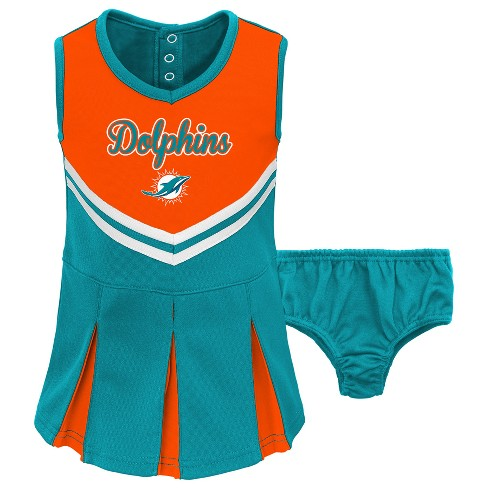 Discount NFL Miami Dolphins Infant Toddler In The Spirit Cheer Set : Target  hot sale quGFdPhq