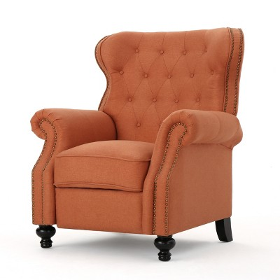 Walder Tufted Recliner - Christopher Knight Home