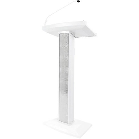 Denon Professional Lectern Active White Lectern with Active Speaker Array - image 1 of 1