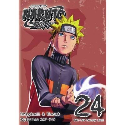 Naruto Shippuden: Box Set 24 (DVD)(2015)