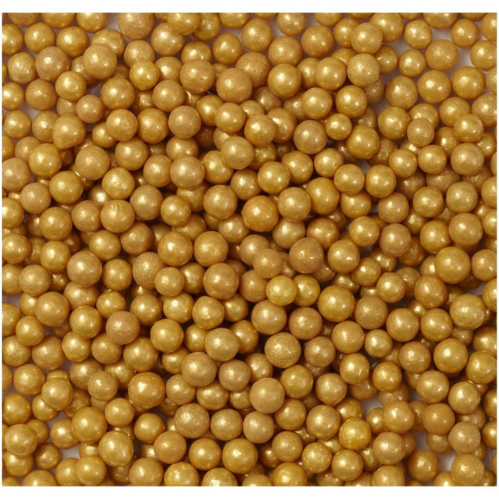 Gold Pearls Sprinkles - Wilton