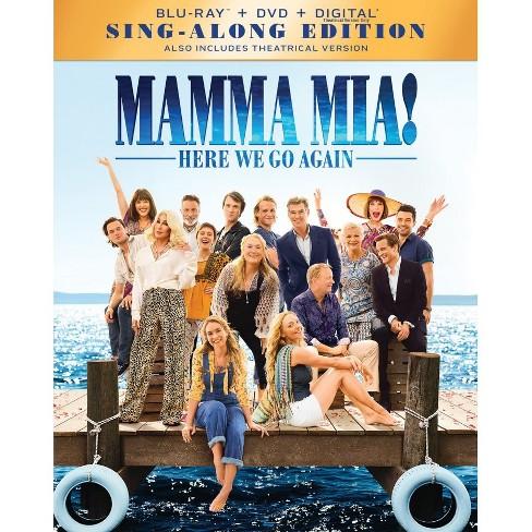 Mamma Mia! Here We Go Again (Blu-Ray + DVD + Digital)
