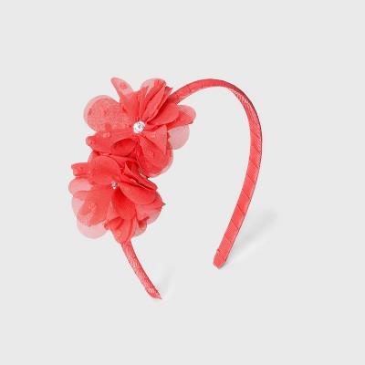Girls' Floral Stone Headband - Cat & Jack™