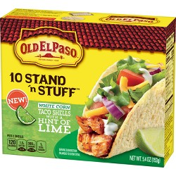 Old El Paso 10 Stand 'n Stuff Taco Shells - 5.4oz