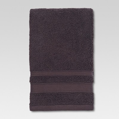 Performance Hand Towel Dark Brown - Threshold™
