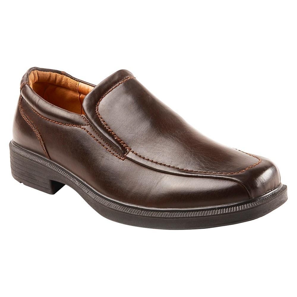 Men's Deer Stags Wide Width Adult Loafers - Dark Brown 14W, Size: 14 Wide