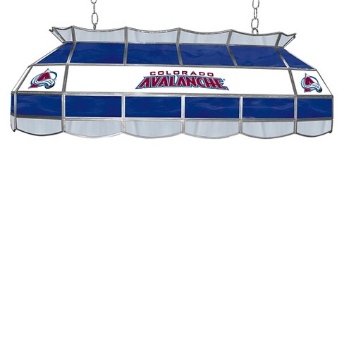 Colorado Avalanche Stained Glass Lighting Fixture - 40 inch - image 1 of 1
