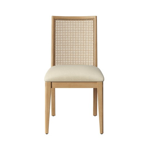 Corella Cane and Wood Dining Chair - Opalhouse™ - image 1 of 5