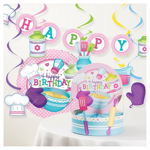 Little Chef Birthday Party Decorations Kit - image 1 of 1