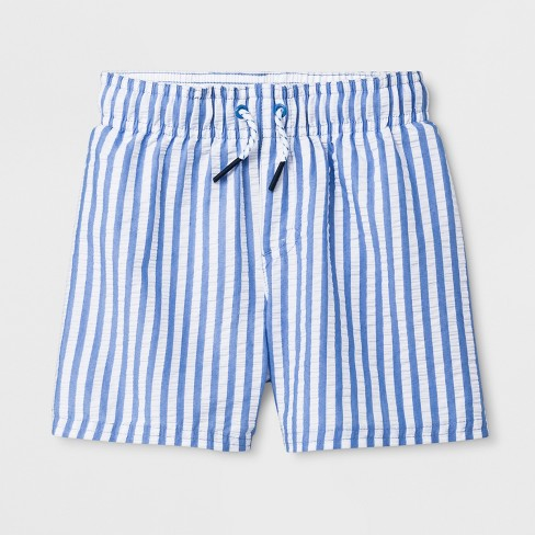 ef11b13db925c Toddler Boys' Swim Trunks - Cat & Jack™ Blue 2T : Target