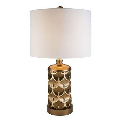 OK Lighting Mystic Owl Table Lamp