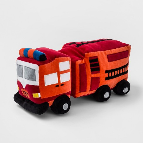 Fire Truck Throw Pillow Red Pillowfort