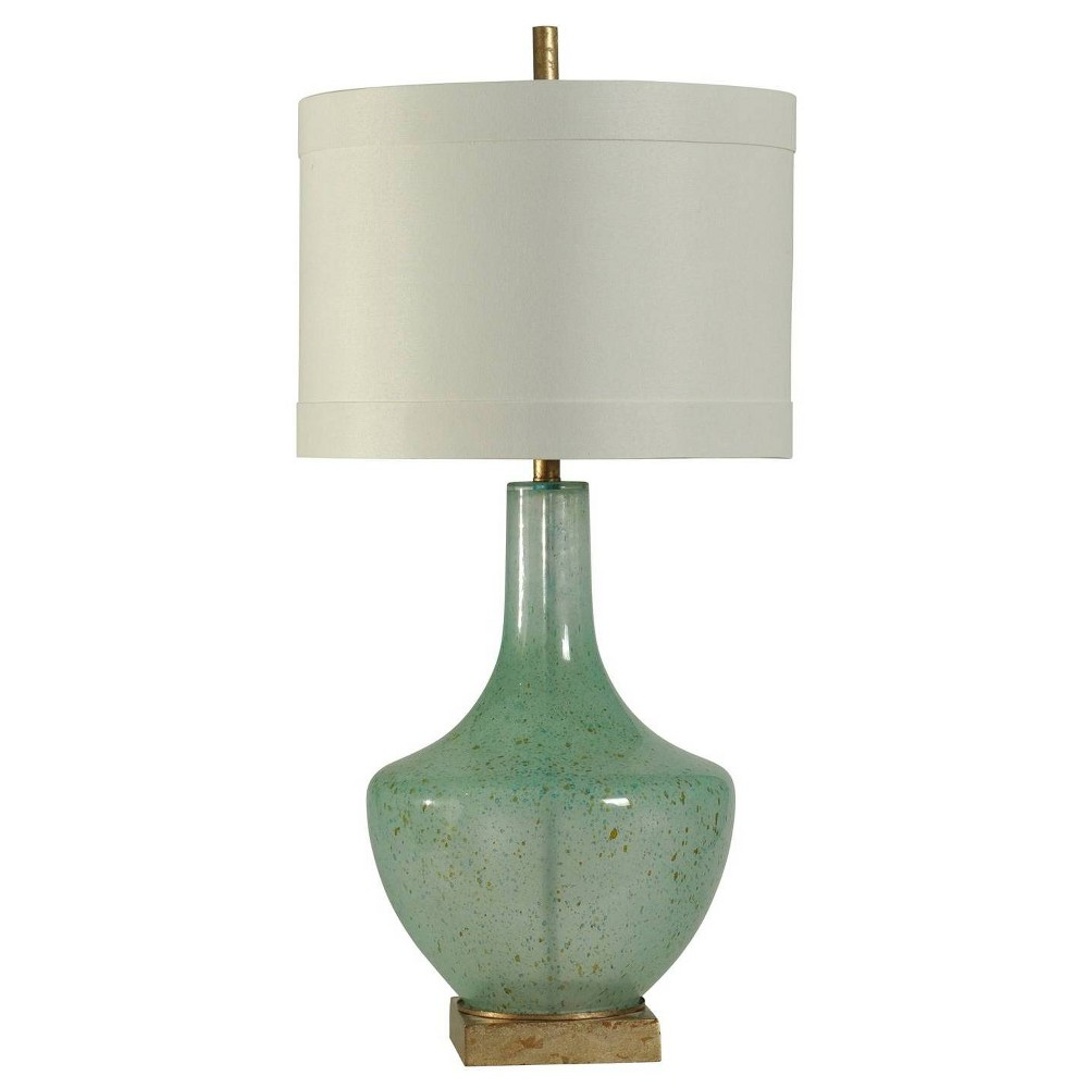 Catskill Table Lamp Turquoise (Includes Light Bulb) - StyleCraft