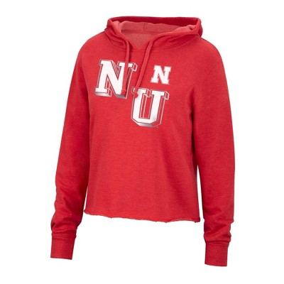 NCAA Nebraska Cornhuskers Women's Cropped Hoodie