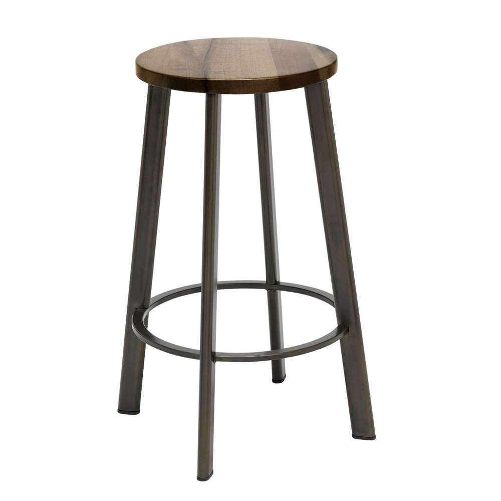 "Image of ""18"""" Metro Height Stool Natural - KFI Seating"""