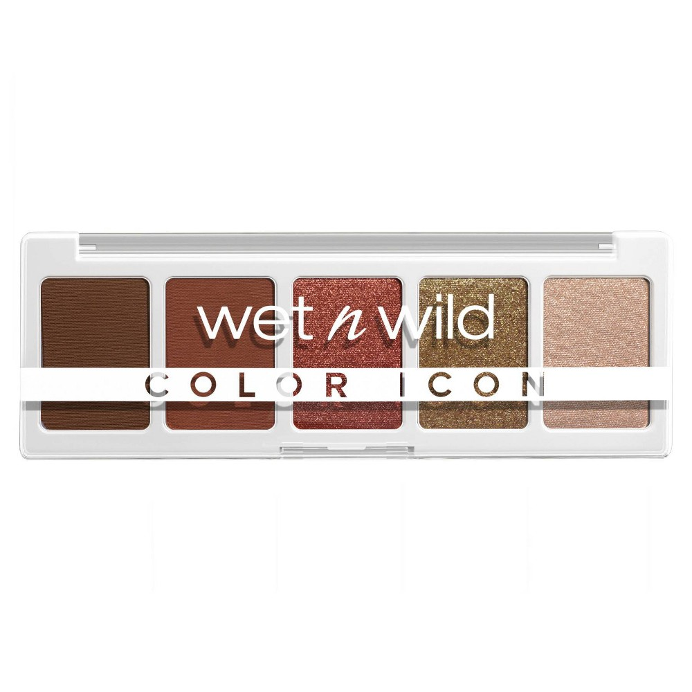 Wet N Wild Color Icon 5 Pan Eyeshadow Palette Go Commando 0 21oz