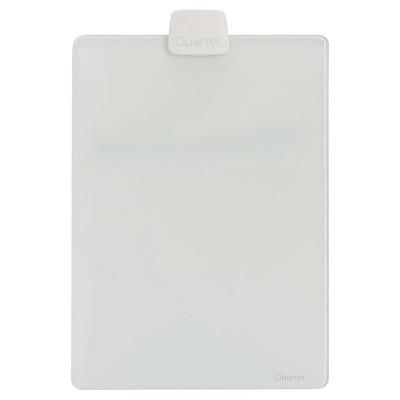 "Quartet 9"" x 11"" Dry Erase Glass Desktop Easel"