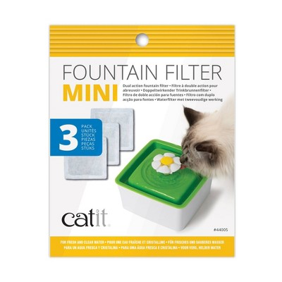 Catit 2.0 Mini Fountain Filter for Cats - 3pk
