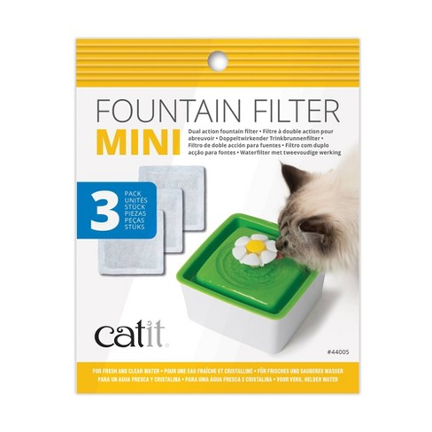 Catit 2.0 Mini Fountain Filter for Cats - 3pk - image 1 of 1