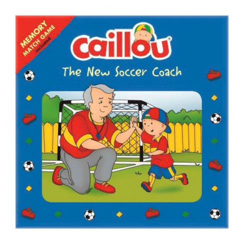 Caillou: The New Soccer Coach - (Playtime) (Paperback) - image 1 of 1