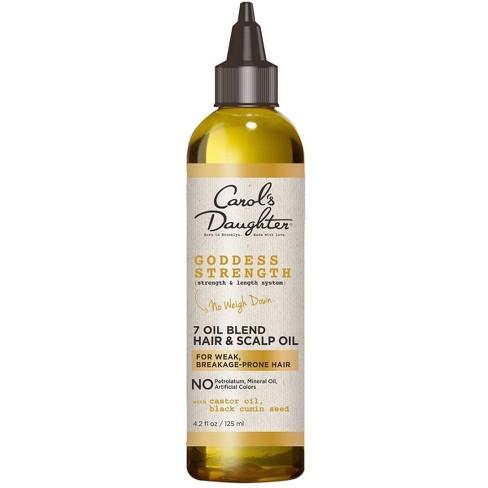 Carol's Daughter Goddess Strength Scalp Oil and Hair Oil Deep Treatment with Castor Oil for Breakage Prone Hair - 4.2 fl oz - image 1 of 4