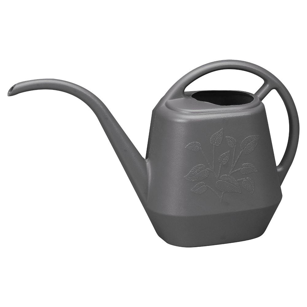 36oz Aqua Rite Watering Can - Gray - Bloem