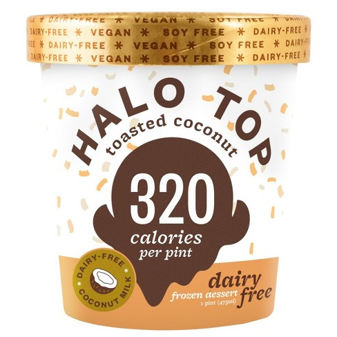 Halo Top Dairy-Free Toasted Coconut Ice Cream - 16oz - image 1 of 1