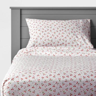 Cherry Microfiber Sheet Set - Pillowfort™