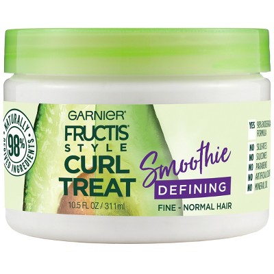 Hair Styling: Garnier Fructis Style Curl Treat Smoothie Defining