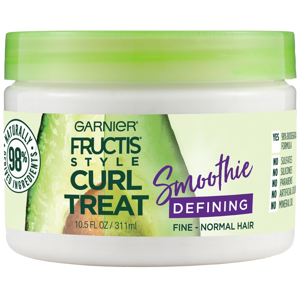 Garnier Fructis Style Curl Treat Smoothie Defining Leave-in Styler - 10.5 fl oz
