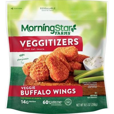 Morningstar Farms Veggie Classics Frozen Buffalo Wings - 10.5oz