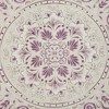 Kaia Cotton Printed Shower Curtain Purple - image 2 of 2