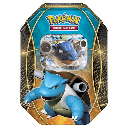 2016 Pokemon Trading Cards Best of EX Tins featuring Blastoise Board Game - image 1 of 3