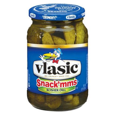 Vlasic® Snack'mms Kosher Dill Pickles - 16oz - image 1 of 1