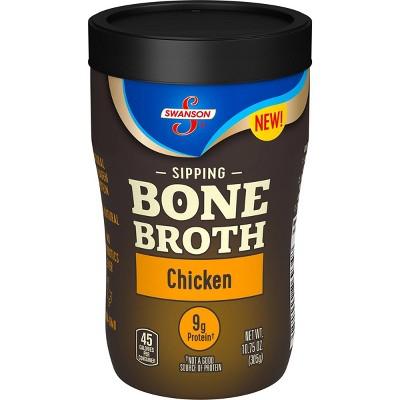 Swanson Sipping Bone Broth Chicken - 10.5oz