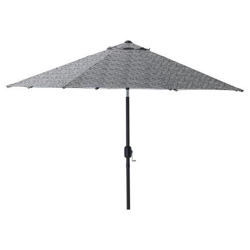 7 5 Outdoor Indoor Herringbone Patio Market Umbrella Pillow