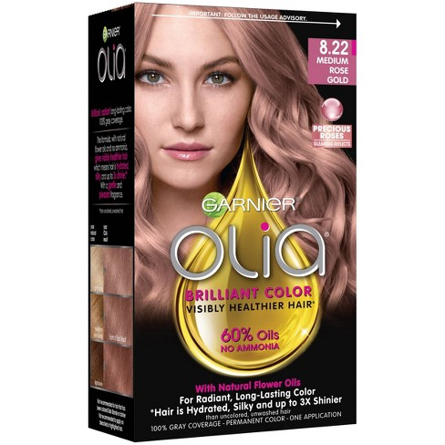 Garnier Olia 8 22 M Rose Gold Blonde Target