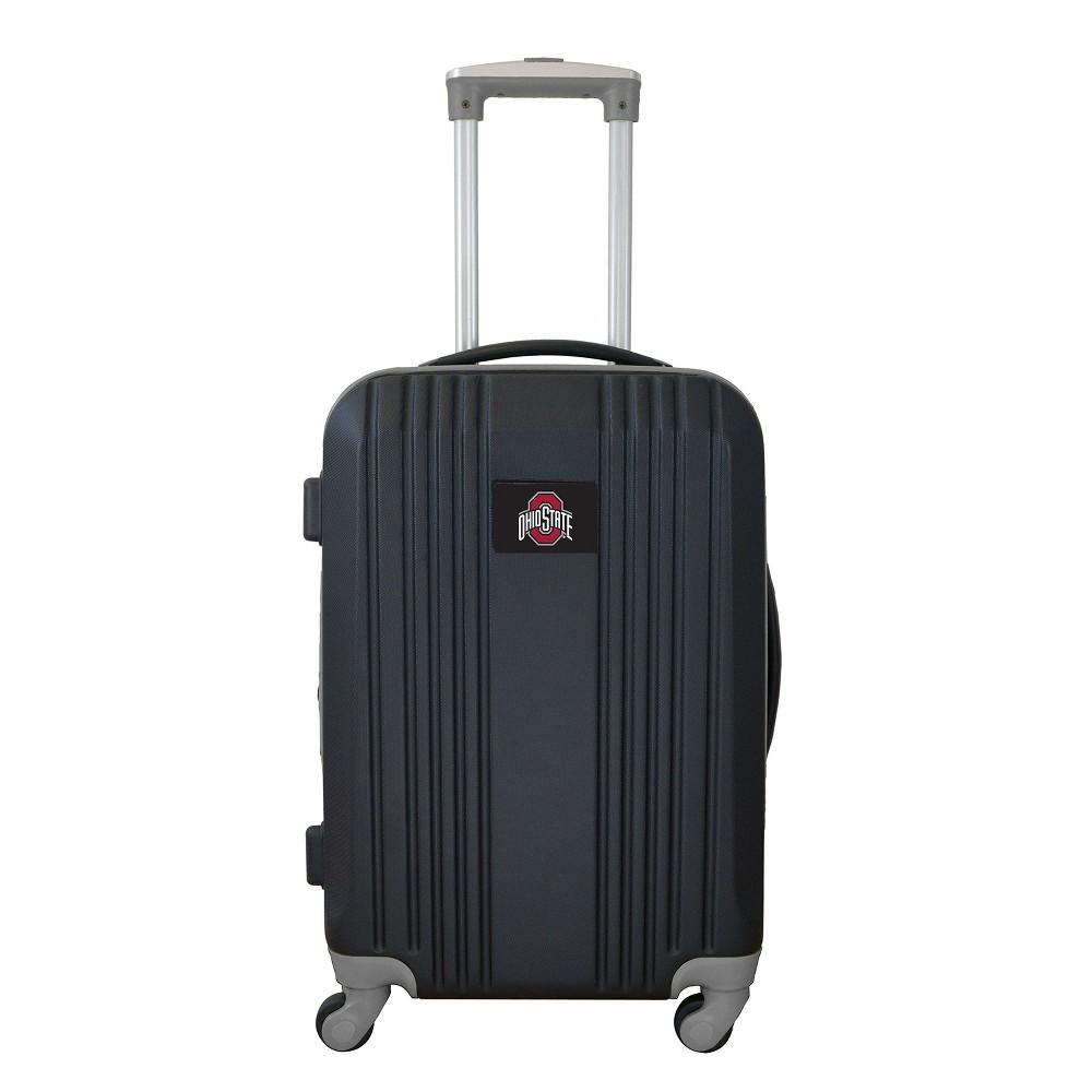 NCAA Ohio State Buckeyes 21 Hardcase Two-Tone Spinner Carry On Suitcase